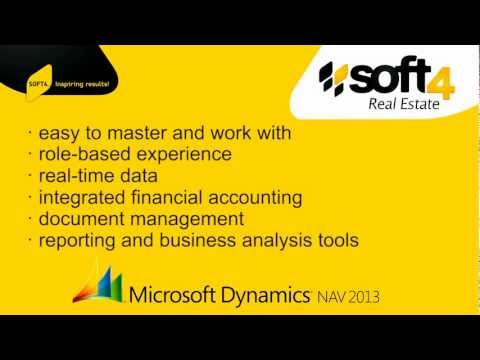 Soft4RealEstate demo scenario: New lease/ rental contract management process