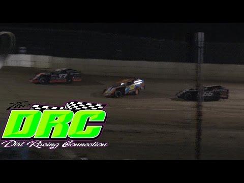 Moler Raceway Park   4.15.16   Matts Graphics UMP Modifieds   Heat 3