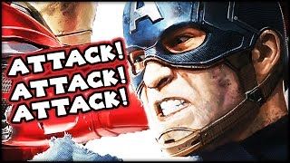 Marvel Ultimate Alliance - Captain America vs. Winter Soldier Mission! (Ps4)