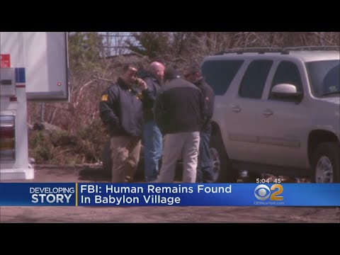 FBI: Human Remains Found In Suffolk County