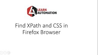 How to find XPath in Firefox Browser in Selenium Webdriver without Firebug