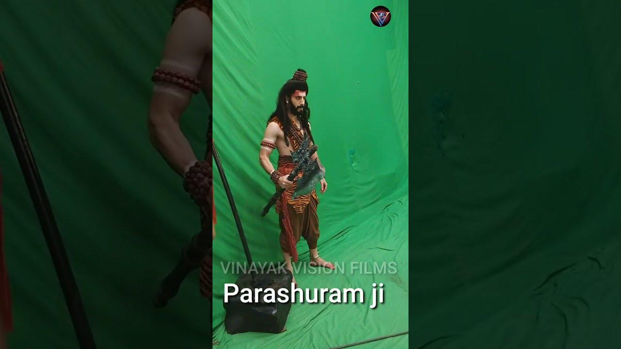 #short #shorts Parashuram ji live shoot / Hitanshu Jinsi / Vighnharta Ganesh / VINAYAK VISION FILMS
