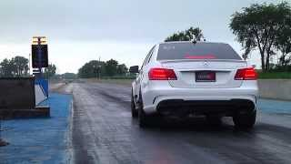 Alpha Performance 2014 E63 AMG 4Matic Runs Back to Back 10 Second Passes