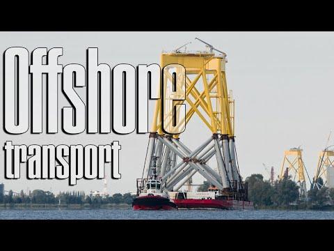 Wind Transport Power Plant Suction Bucket Jacket ST³ Offshore Borkum Riffgrund 2 (5/5)