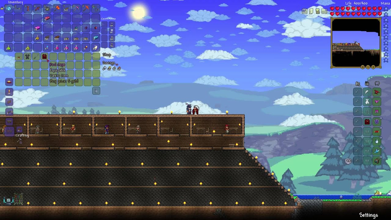 How To Get Red Cape Terraria Youtube
