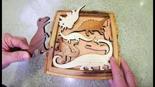 The Dinosaur Shape Puzzle / IS IT IMPOSSIBLE!?
