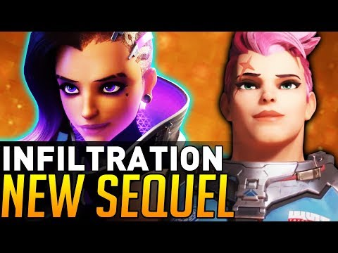 Overwatch | NEW SEQUEL to the Sombra Cinematic! (Infiltration)