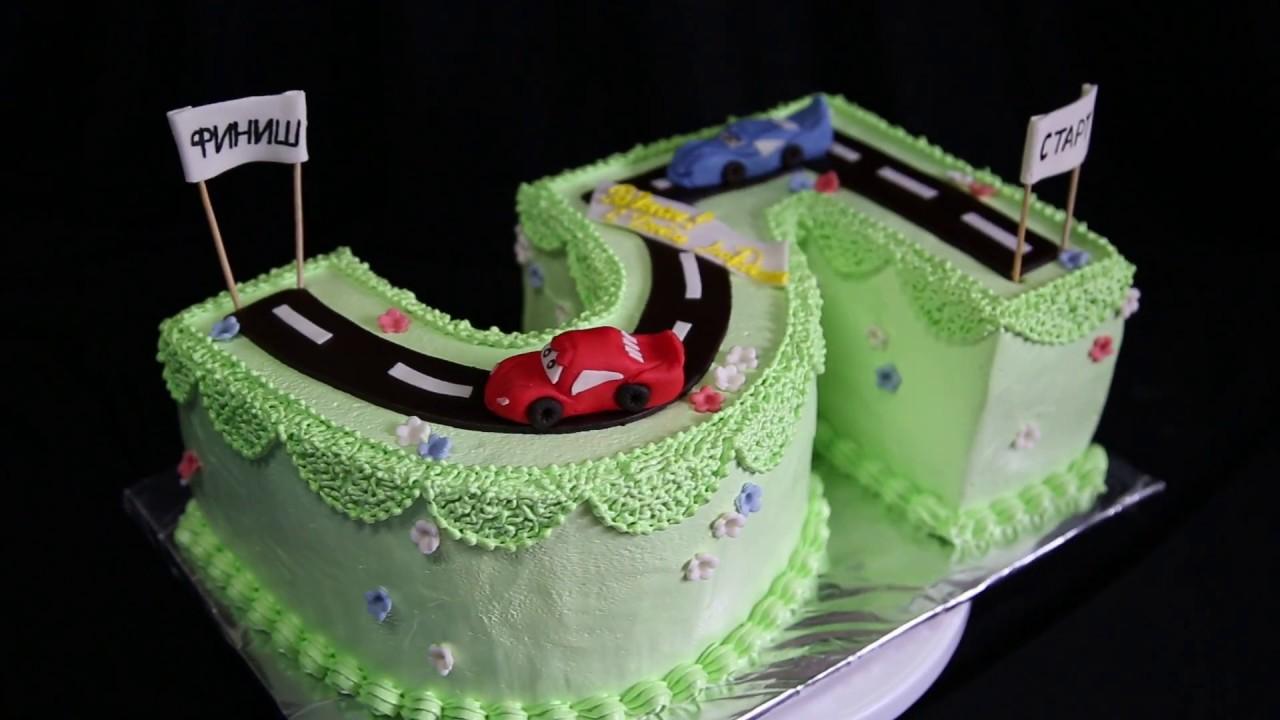 торт для мальчика на 5 лет | торт на заказ - YouTube