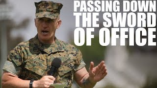 Sgt. Maj. Kasal | Passing Down the Sword of Office