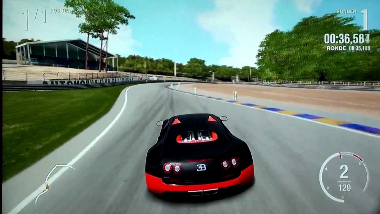 bugatti veyron supersport top speed run 436 km h 271 mp h forza 4 fastest. Black Bedroom Furniture Sets. Home Design Ideas