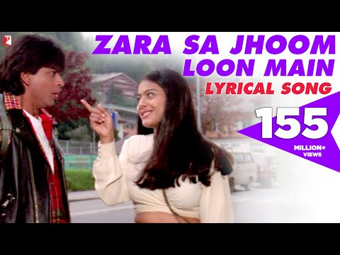Lyrical: Zara Sa Jhoom Loon Main Song with Lyrics | Dilwale Dulhania Le Jayenge | Anand Bakshi