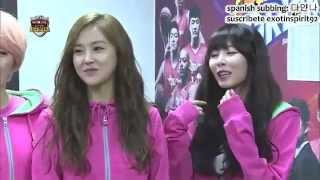 [Sub Español] 130211 Idol Star Olympics Parte 1