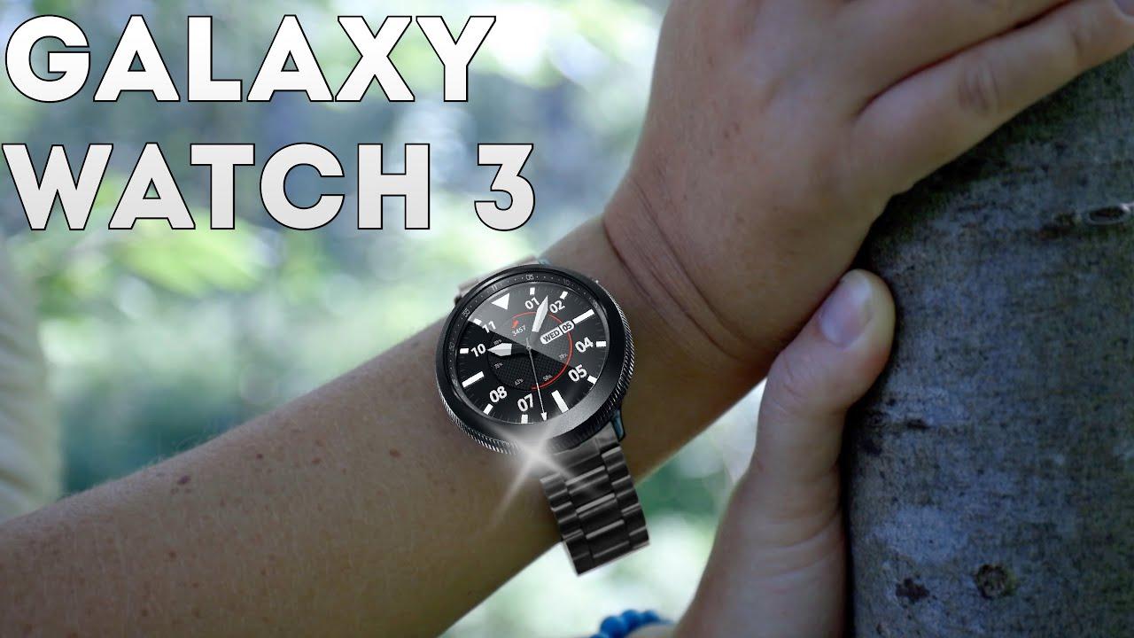 Samsung Galaxy Watch 3  - No Physical Rotating Bezel?