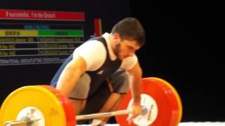 Кубок Президента РФ по тяжелой атлетике (рывок 94 кг)