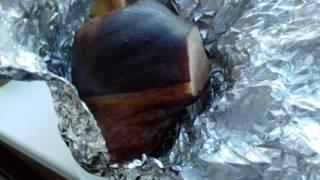 свиная рулька горячего копчения 2 часть