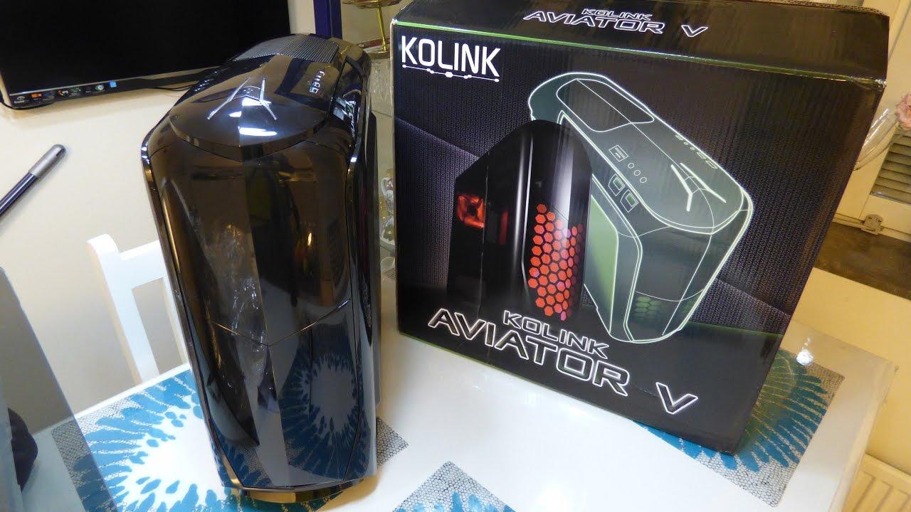 Kolink Aviator M bo/îtier Micro ATX Noir