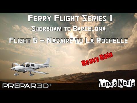 Ferry Flight Series 1 - Leg 7 -  Nazaire to La Rochelle