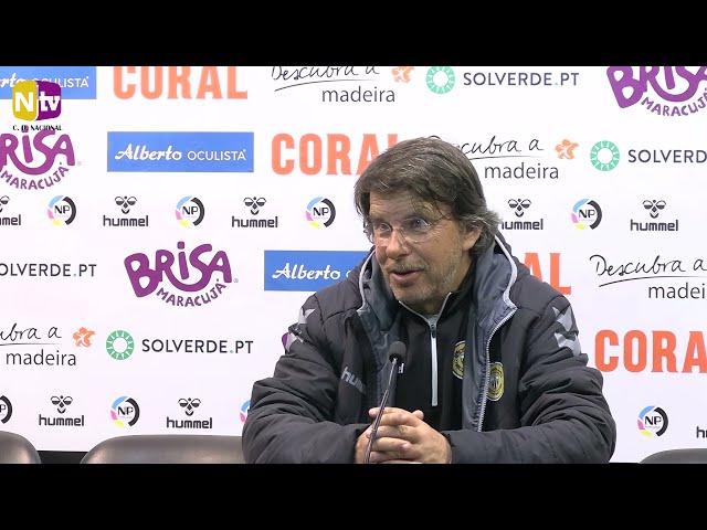 Manuel Machado acredita na superação da atual fase: