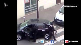 Une vidéo montre les frères Kouachi après l'attentat contre Charlie Hebdo
