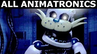 Jolly 3 - All Animatronics & Extras (FNAF Fan Horror Game 2017) (No Commentary)