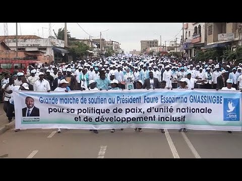 Togo: demonstration in support of President Faure Gnassingbé [no comment]
