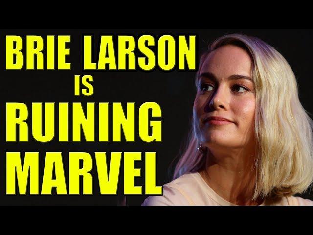 Brie Larson is Ruining Marvel!