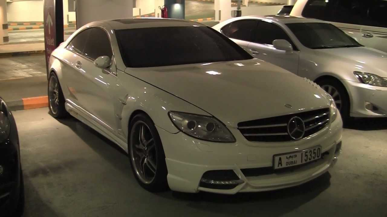 wald tuning mercedes cl600 in dubai youtube. Black Bedroom Furniture Sets. Home Design Ideas