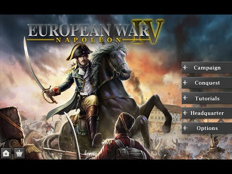 European War 4: Napoleon walkthrough - The Retreat of Empire