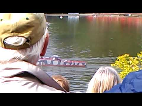Pocky's Holiday In Scarborough - Naval Battle Show In Peasholm Park Part 1 (Vlog 7)