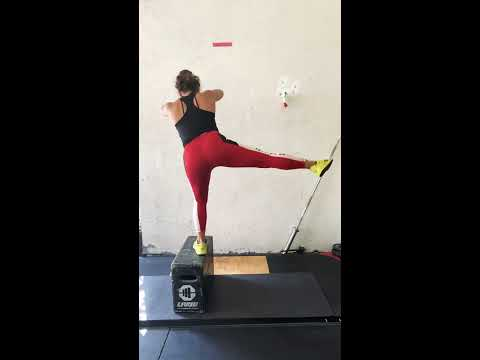 Lateral step to