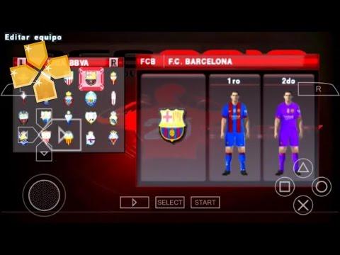 PES Fuxion 2016-2017 + Liga MX para PSP y ANDROID