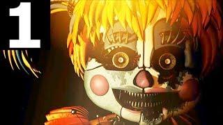 Freddy Fazbear's Pizzeria Simulator Gameplay Part 1 - Night 1 (No Commentary) (FNAF 6 Horror Game) Video
