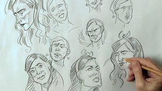 Figure Fundamentals Volume 3, Drawing the Female Head with Van Arno