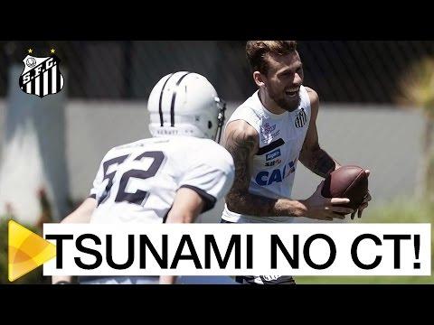 Tsunami invade o CT Rei Pelé!