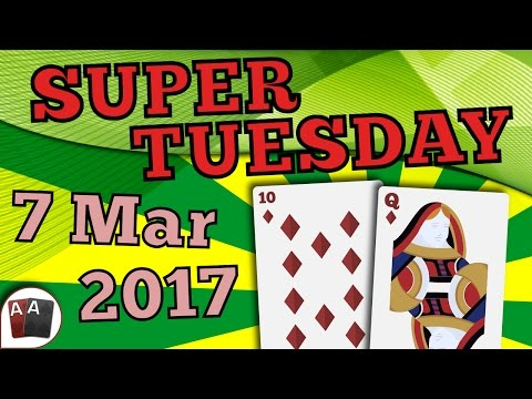 [7 March 2017] PokerStars Super Tuesday Final Table Replay (Cards-Up) | Series Player