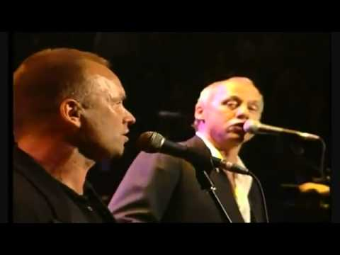 Mark Knopfler, Eric Clapton, Sting & Phil Collins  Money for Nothing Live Montserrat