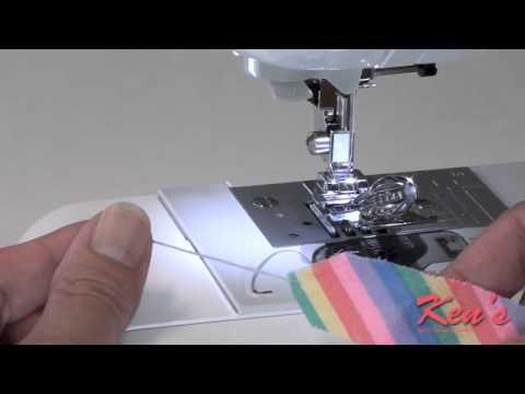 How To Use Brother SA40 Sewing Machine Binder Foot YouTube Best Binding Foot For Sewing Machine