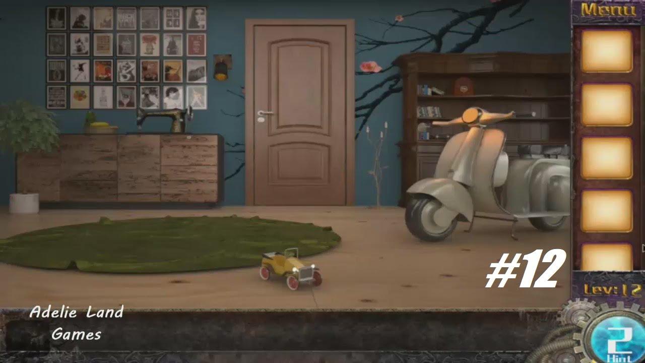 Escape Game 50 Rooms 3 Level 12 Walkthrough Youtube