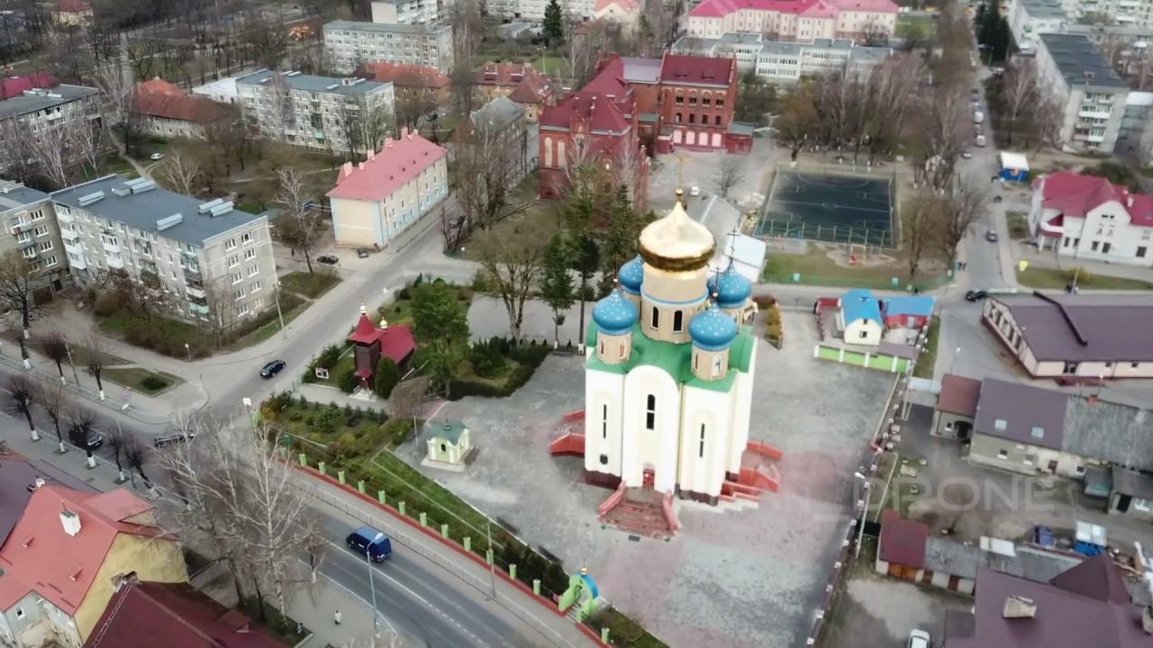 Советск и Неман с высоты | Аэросъёмки 4К