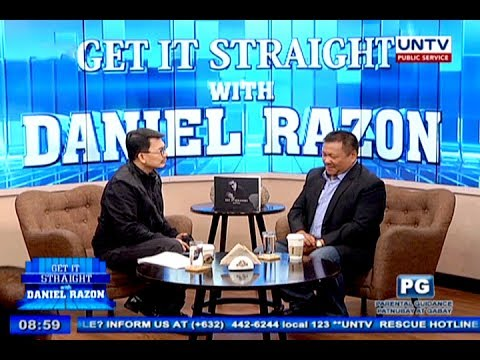 Senator JV Ejercito on Get it Straight with Daniel Razon
