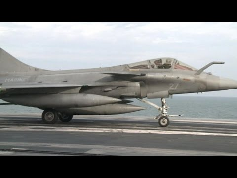India and France agree on €7.8bn deal for 36 Rafale fighter jets