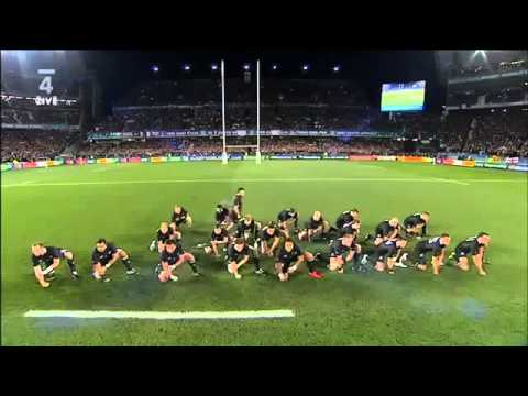 All Blacks vs France Haka 2011 RWC Final