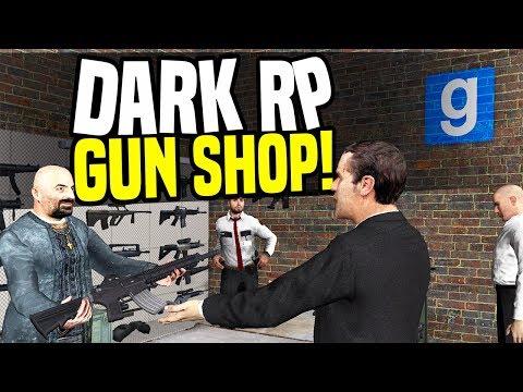 GUN SHOP - Gmod DarkRP | Heavy Weapon Store!
