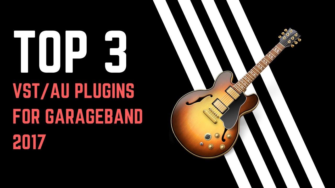 TOP 3 FREE AU/VST PLUGINS FOR GARAGEBAND!?