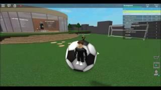 giocando calcio mappa Roblox-PC