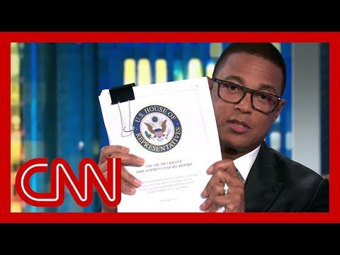 Don Lemon: Trump has habit of ignoring 'inconvenient' facts and people