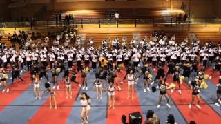 """Grambling St.""World Famed"" Fight Song /Neck Pep Rally 2015"""
