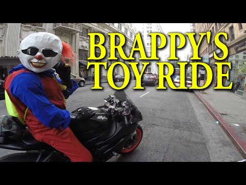 RIDE WITH US - Brappy the Clown's Toy Ride