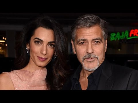 How George Clooney and Amal Are Changing Their Lifestyle to Prepare for Twins