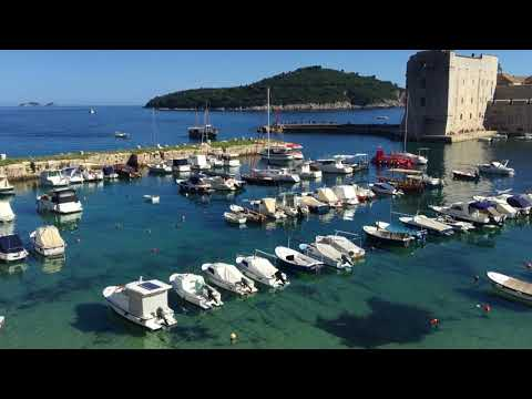 Dubrovnik, Croatia during Game of Thrones cruise journey with a charter yacht